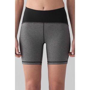 Lululemon Bike Shorts Black & Gray Size 8